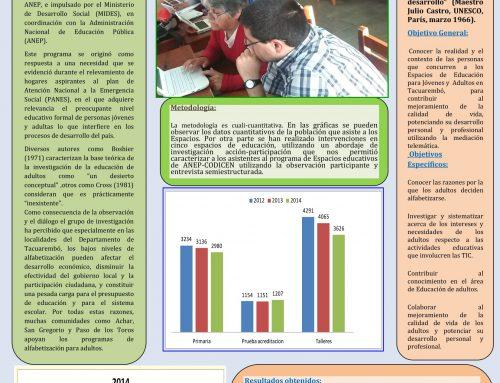 [CUT] ESPACIOS DE EDUCACIÓN DE ADULTOS Y MEDIACIÓN TELEMÁTICA
