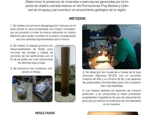 [FCIEN] Búsqueda de microtectitas en las formaciones Libertad y Fray Bentos (metamorfismo de impacto)