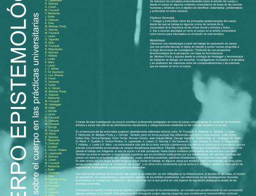 [IENBA] Cuerpo epistemológico. Estudios sobre el cuerpo en las prácticas universitarias